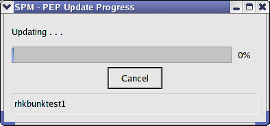 Update Progress Indicator: